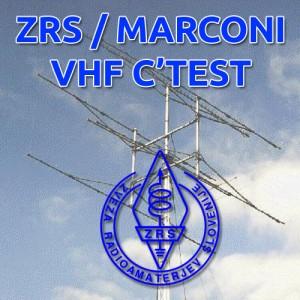 ZRS / Marconi VHF CW C'TEST