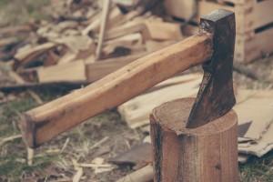 Sekanje drv
